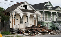 damaged homes post-Katrina (by: George Estreich, creative commons license)