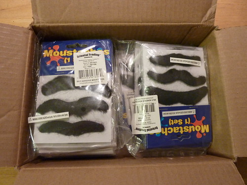 Box of Mustaches by Ladewig