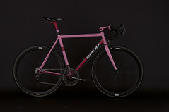 GTA Giro Pink , Red (Baum Cycles) Tags: pink bike bicycle steel baum giro campagnolo ristretto