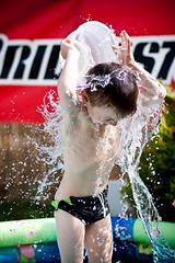summer splash (Stefan Lorse) Tags: summer sun hot water germany deutschland warm wasser child sommer saxony kind swimmingpool sachsen splash sonne canonef50mmf14usm spritzer canoneos50d