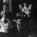 Henry Freedman Seder Frankenstein, Front.  Frances, Henrietta, Jackie, Rose Back row