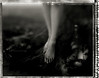 fossil of time (TommyOshima) Tags: monochrome polaroid foot leg negative type55 graflex misa paganpoetry monochromia mishan treebeing hugomeyergeorlitz misaitoi
