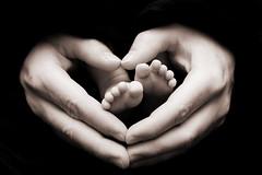 Oh yes...more feet... (WomanNchns) Tags: bw baby love feet digital photoshop canon 50mm hands bravo heart father bwdreams diamondclassphotographer platinumheartaward thegoldendreams inspiringhearts artsyfartsyfeet damniwish