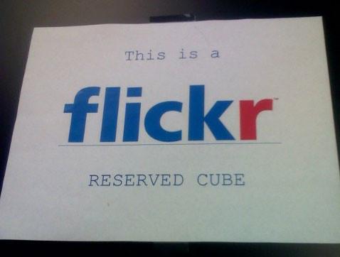 Flickr Cube