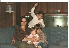 Gaga with Baby Sarah, Niki and Chris - by Sketchzilla