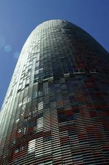 Torre Agbar, Barcelona (Nikarius) Tags: barcelona spain torreagbar