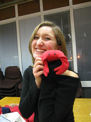 Opera - Fran (chicgeekuk) Tags: red laura animal toy crab plush claw abroad stuffedanimal seafood claude crabs crustacean claws kishimoto travellingtoys travellingtoy laurakishimoto laurakishimotoca claudeabroad