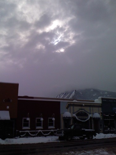snow, wind, rain