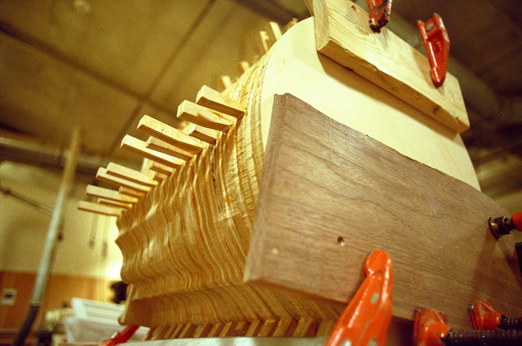 630 - bob davoli table in process of plugging holes