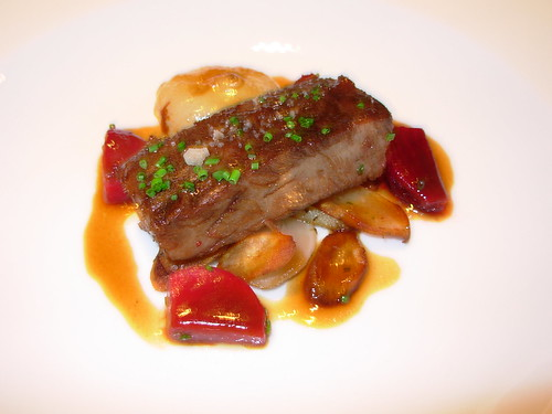 Washington Food - Beef Shortribs with Marinated Beets Cityzen