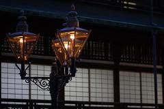 Lantern at Dogo Onsen (deadguru) Tags: old light anime building japan canon movie dof miyazaki onsen spiritedaway lantern chihiro matsuyama dogo 30d hayao dogoonsen sentochihironokamikakushi 85f18