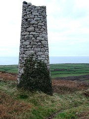 Cornish Tin Mine Chimney