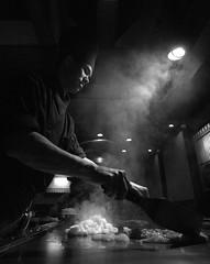 super chef (Christopher Wallace) Tags: show party food chicken dinner japanese virginia nikon display d70s performance shrimp wideangle scallops grill steak va kabuki perform superwideangle japanesesteakhouse christiansburg ultrawideangle 14mm filletmignon kabukisteakhouse