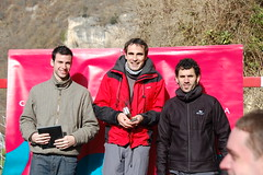 Podium Absoluto Masculino: Josean Lopez de Alda, Javier Nagore, Raul Amatriain