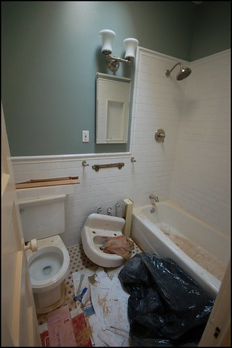Hall Bathroom Repainted