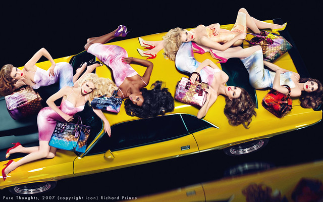 Louis Vuitton SS2008: Naomi Campbell, Eva Herzigova, Stephanie Seymour, Claudia Schiffer, Angela Lindvall y Natalia Vodianova by Mert & Marcus by Ali_ads