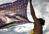 Summer Flag... (Animal Photo) Tags: sky woman sun sol mulher vivid céu aloha excellence canga yougotit scarff plus4 plus4excellence diamondclassphotographer invitedphotosonlyplus4 juliocastro