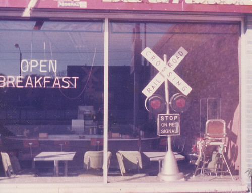 The original Snackville Junction restaurant. Located on South Western Avenue near west 115th street. Chicago Illinois. January 1976. by Eddie from Chicago