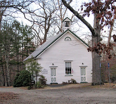 Little White Church in the Woods (John Stenberg) Tags: church churches methodist methodism meetinghouse weymouth methodistchurch oldweymouthmeetinghouse