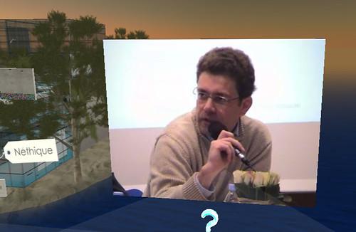 Néthique 3 sur l'Ile Verte (Second Life) / Amaury de Buchet