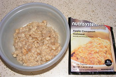 food breakfast oatmeal meal diet weightloss nutrisystem highcarb 10millionphotos