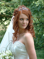 bride hairstyles with veil