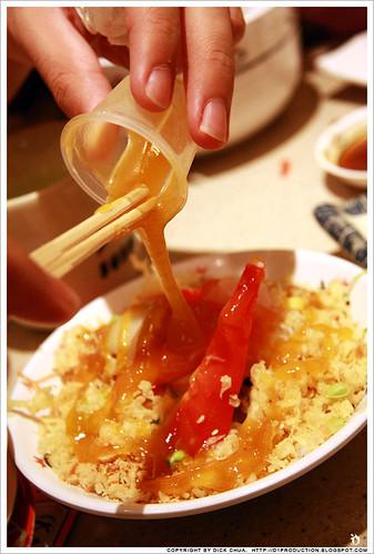 """""""lou sang"""" @ Sushi King"""