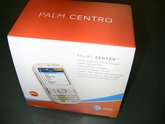 Glacier White AT&T Palm Centro
