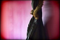 winter (vcrimson) Tags: pink winter england cold dark warm purple coat