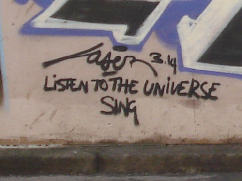 graffiti: listen to the universe sing
