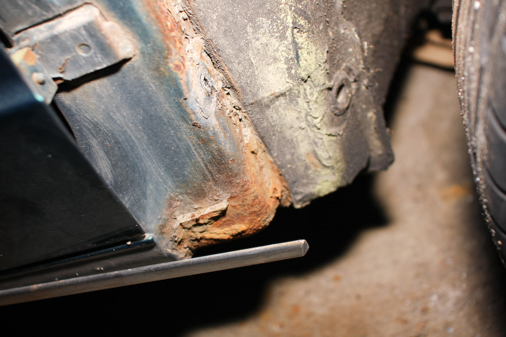 how to take care of rust spots on a car