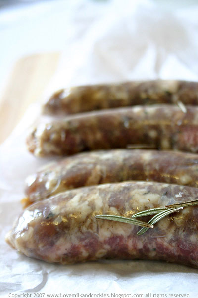 Eumundi Smokehouse Lamb Merguez Sausages