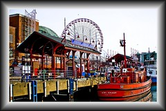 Navy Pier Scene Chicago Illinois