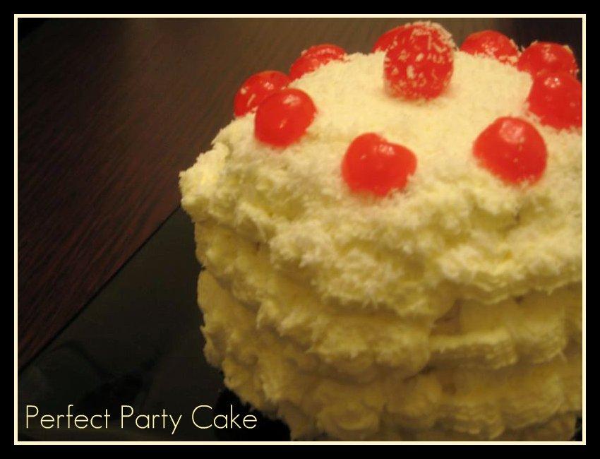 LA MEDIA VUELTA: DARING BAKER CHALLENGE: DORIE¨S PERFECT PARTY CAKE