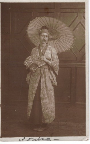 Male Geisha - 1900's Cross Dresser