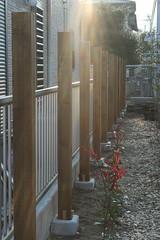 フェンスの柱