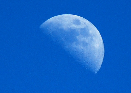 74-First Quarter Moon