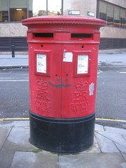 A happy post box