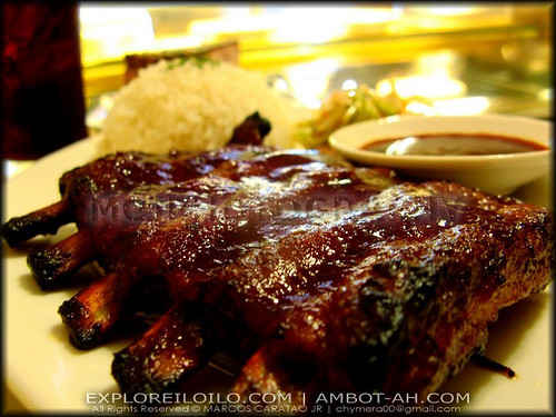 Mouthwatering Bab-back Ribs of Picea