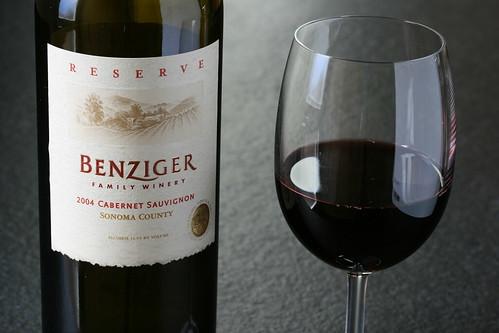 2004 Bezinger Reserve Cabernet Sauvignon