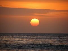 Pôr-de-sol na praia da Costa da Caparica... 작성자 Rosa Gambóias
