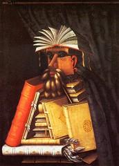 Arcimboldo's, The Librarian (1566)