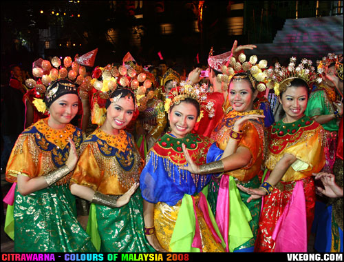 colours of malaysia dancers