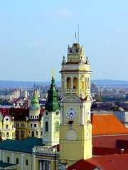 Romania Transylvania Oradea Towers 2007 (MarculescuEugenIancuD60Alaska) Tags: romania transylvania oradea beautifulshot 5photosaday nagyvrad top20travel onlythebestare excapture favouritecapture detallessculpturalandaechitecturaltreasures panoramafotogrfico saariysqualitypictures capturethefinest transylvaniaoradea