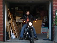 harley harley harley (ivika) Tags: fuji garage harleydavidson motorcycle 1200 fujifilm biker jojo stil kramare nightster f50fd
