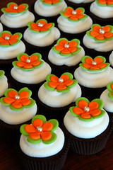 Blossom Cupcakes (TheLittleCupcakery) Tags: orange cupcakes little blossom lime tlc cupcakery xirj klairescupcakes