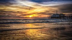 Golden Beach (mcalma68) Tags: santa monica building pier beach waterfront seascape sunset