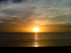 Atardecer Playa Mansa // Sunset at Mansa Beach (musicaymas [Javier Chaurn]) Tags: sunset beach atardecer venezuela playa anzotegui lechera