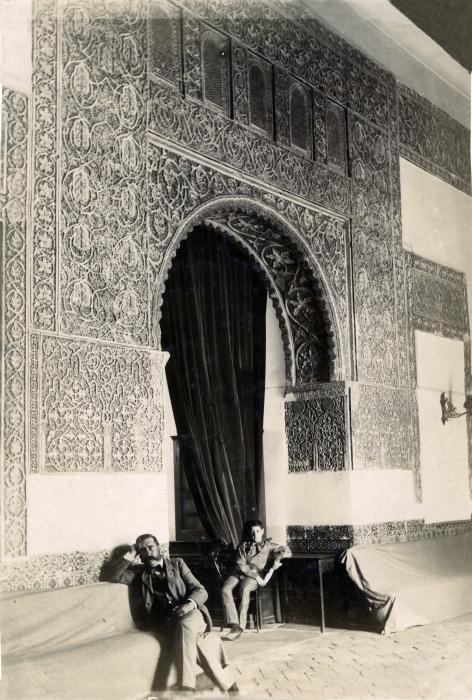 Casa de Mesa en junio de 1905. Fotógrafo anónimo. Colección Luis Alba. Ayuntamiento de Toledo