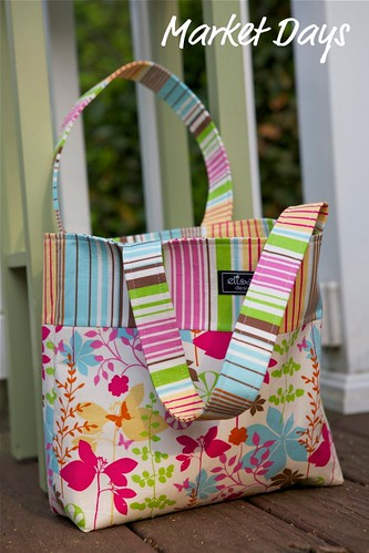 Butterfly garden Market Bag